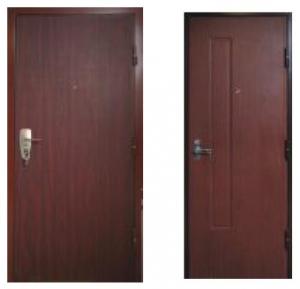 Однопольные квартирные двери Estrudoor класса HD
